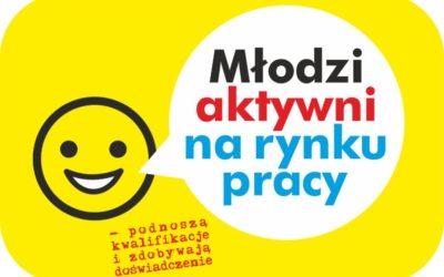 Młodzi aktywni na rynku pracy – projekt aktywizacji zawodowej i doszkalania osób.