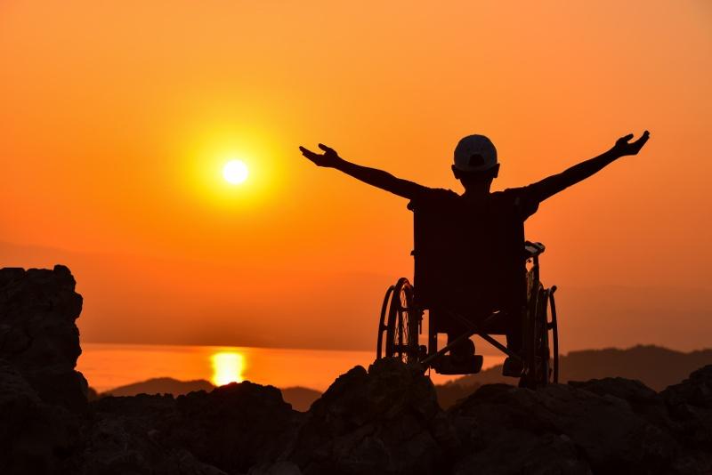 niepełnosprawny podczas urlopu