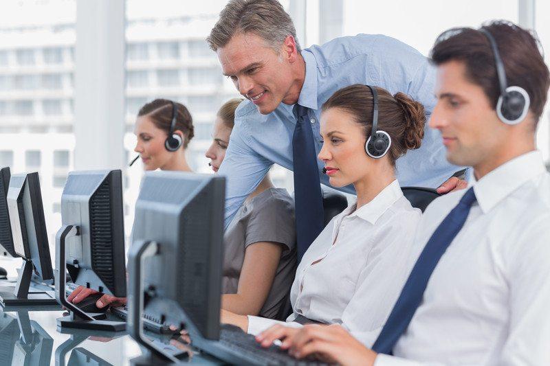 Manager nadzorujący pracowników call center
